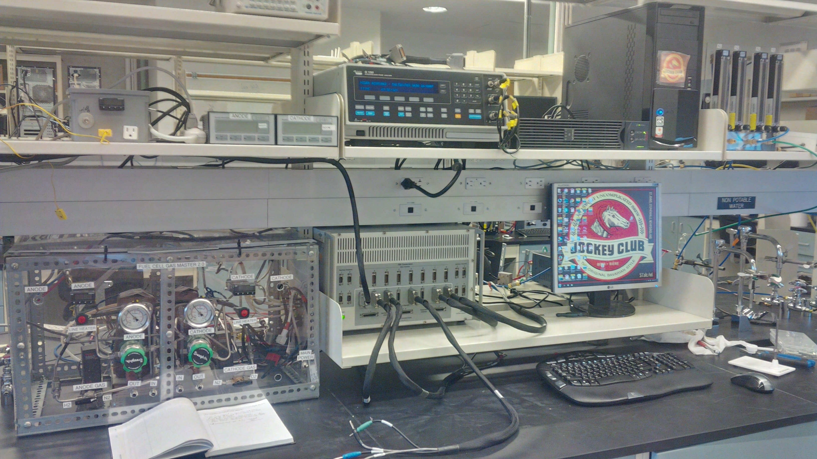 8-channel electrochemical work station with impedance